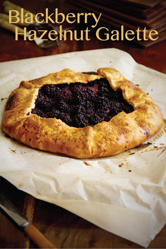 Blackberry Hazelnut Galette