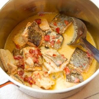 Wild alaskan keta salmon simmered in coconut milk sippitysup ingredients ccuart Choice Image