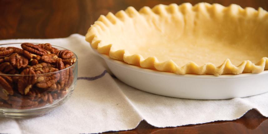 Making Pecan Pie