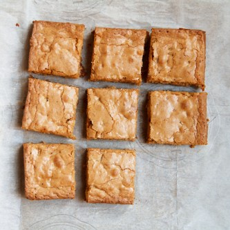 Brown-Butter Toffee Blondies