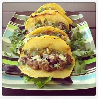 Mushroom Tacos with Cilantro