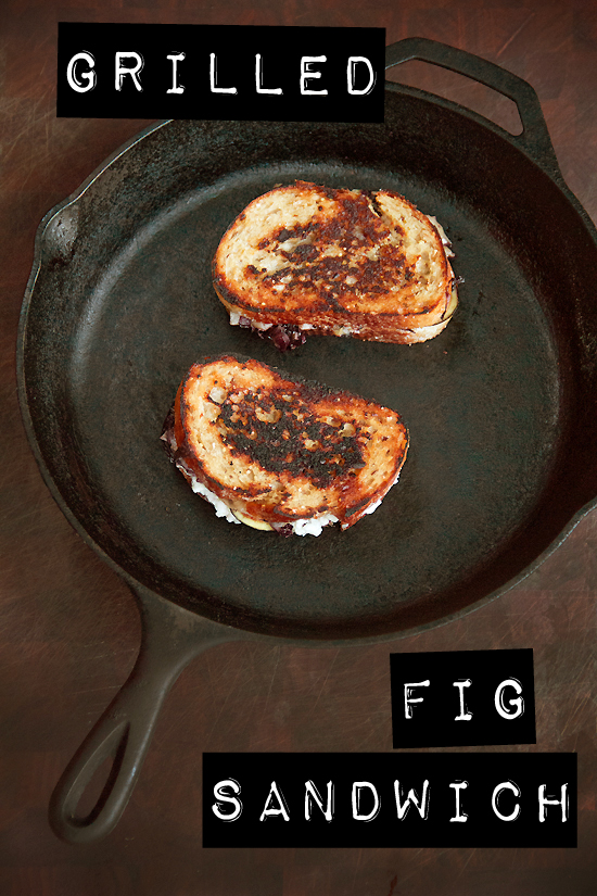 Grilled Blue Cheese & Fig Sandwich
