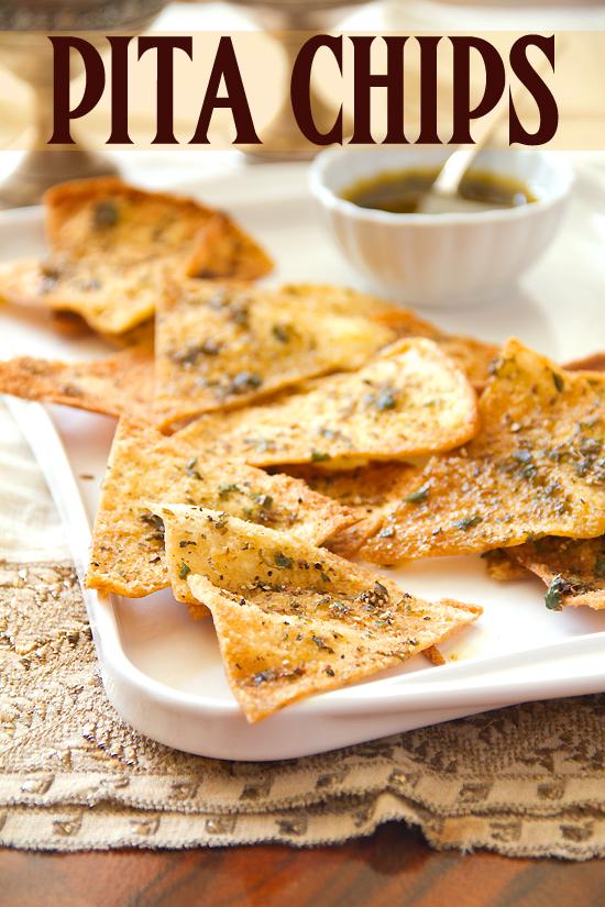 Spicy Cumin Pita Chips