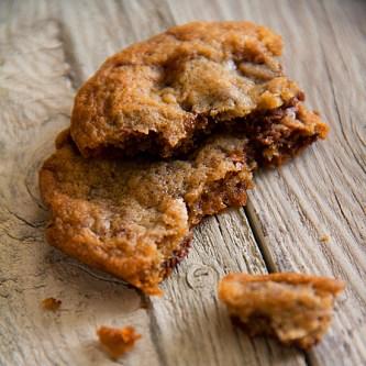 Milk Chocolate Toffee Cookies