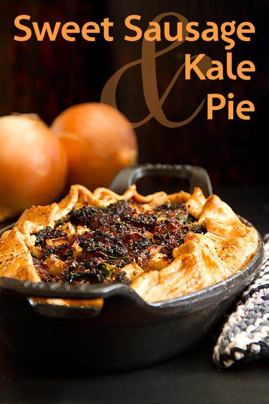 Sausage Kale Pie