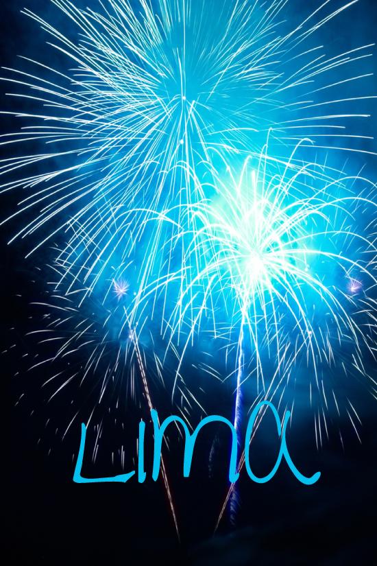 Fireworks Lima, Peru