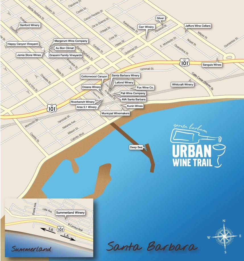 Santa Barbara Urban Wine Trail