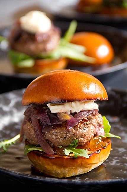 Beef & Brie Sliders