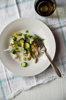 Baby Zucchini Salad Beans