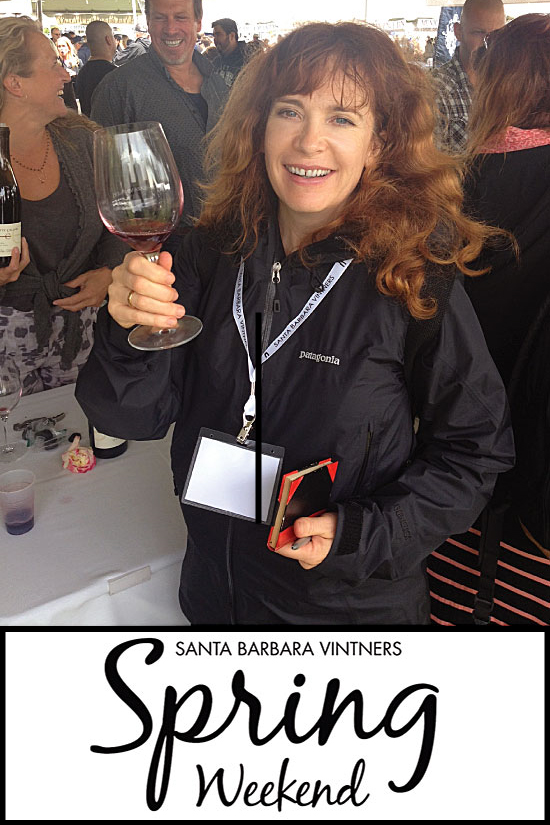 Helen Melville at Santa Barbara Vintners' Festival 2015 for Sippity Sup