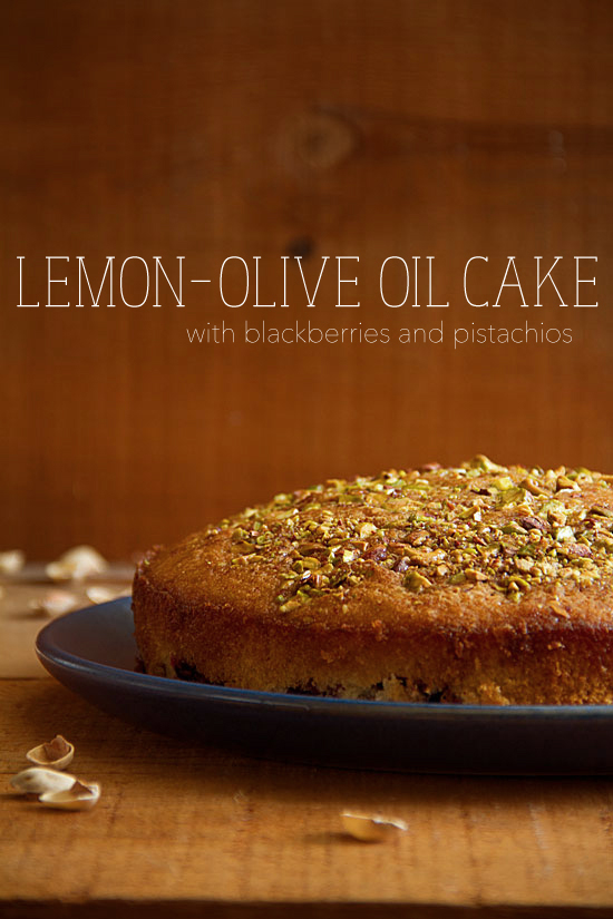 Lemon-Olive Oil Cake