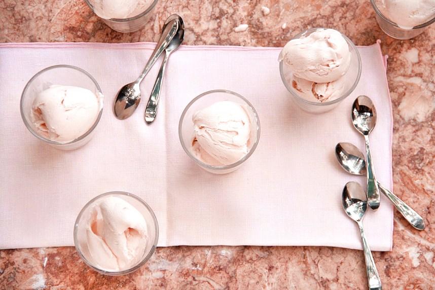 Jeni's Roasted Strawberry and Buttermilk Ice Cream