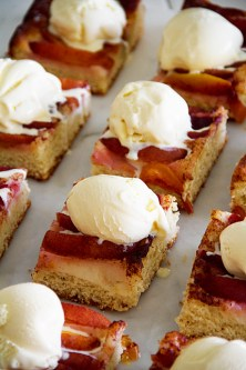 Sweet Focaccia with Nectarines