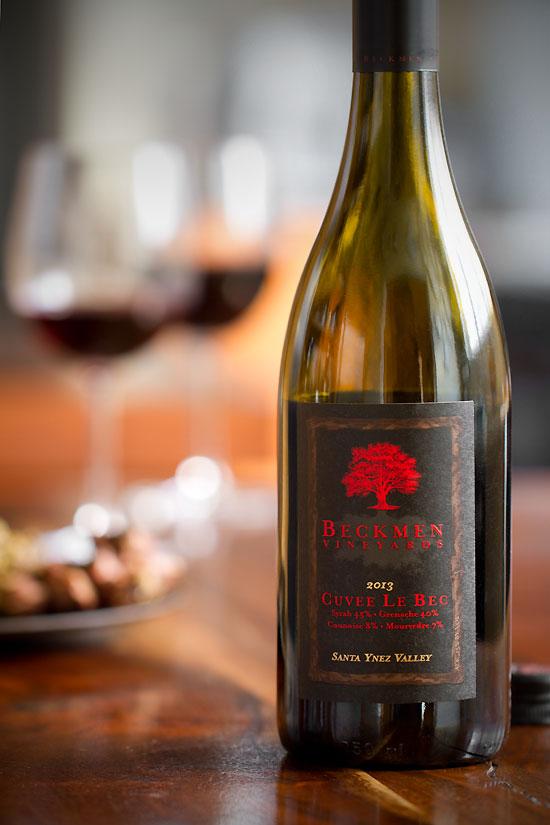 California Rhône blends: Beckmen Vineyards Cuvée Le Bec 2013