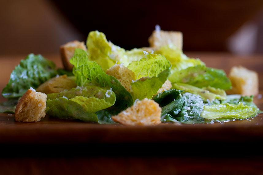 Old School Caesar Salad with No Shortcuts