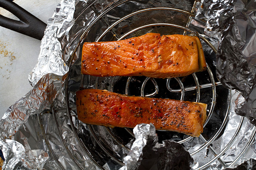 Stove Top Smoked Salmon