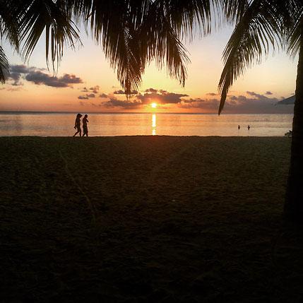 Big Corn Island Sunset