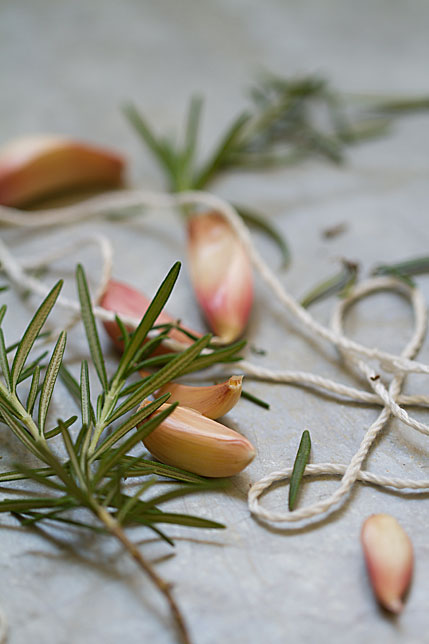 Garlic Rosemary Twine