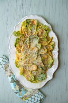 Gem Lettuce Salad with Calabrian Chiles, Parmesan, and Bread Crumbs
