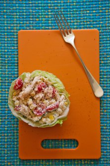 Creamy Chicken Pasta Salad
