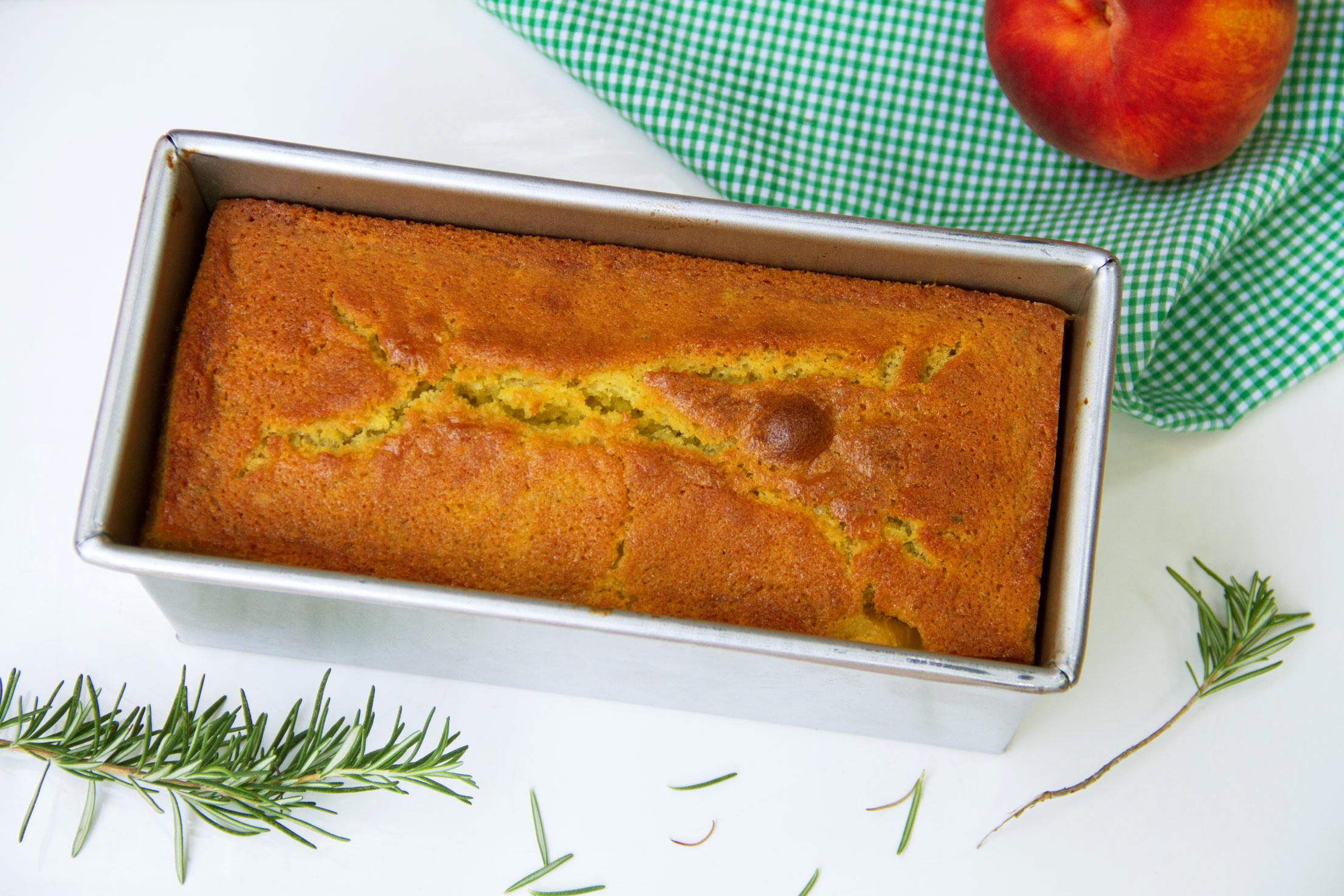 Peach Olive Oil Cake