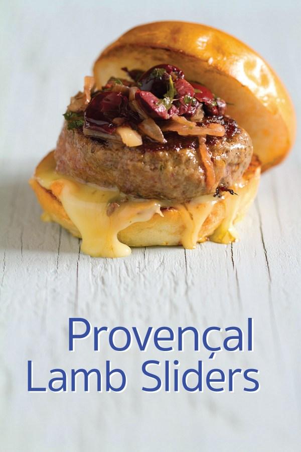 Provençal Lamb Slider