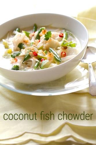 Coconut Fish Chowder