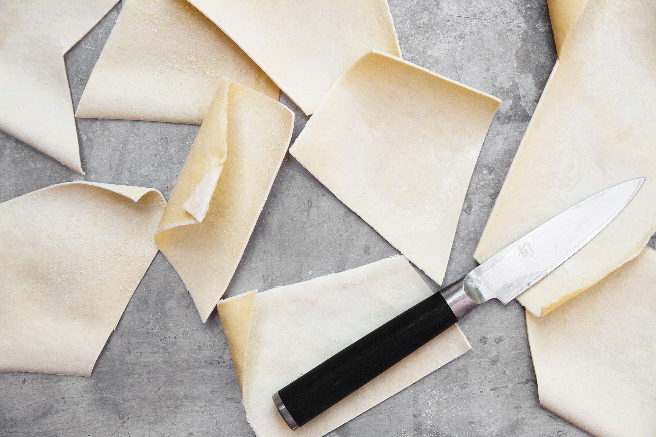 Handcut maltagliti pasta