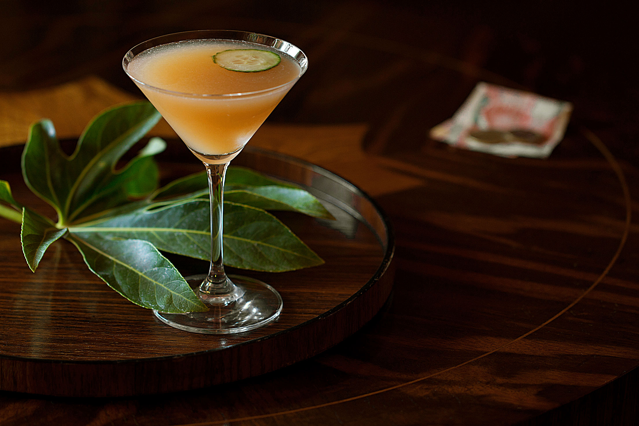 Rum-Muddled Diplomat: Hot Summer Drink for a Cool Dark Corner