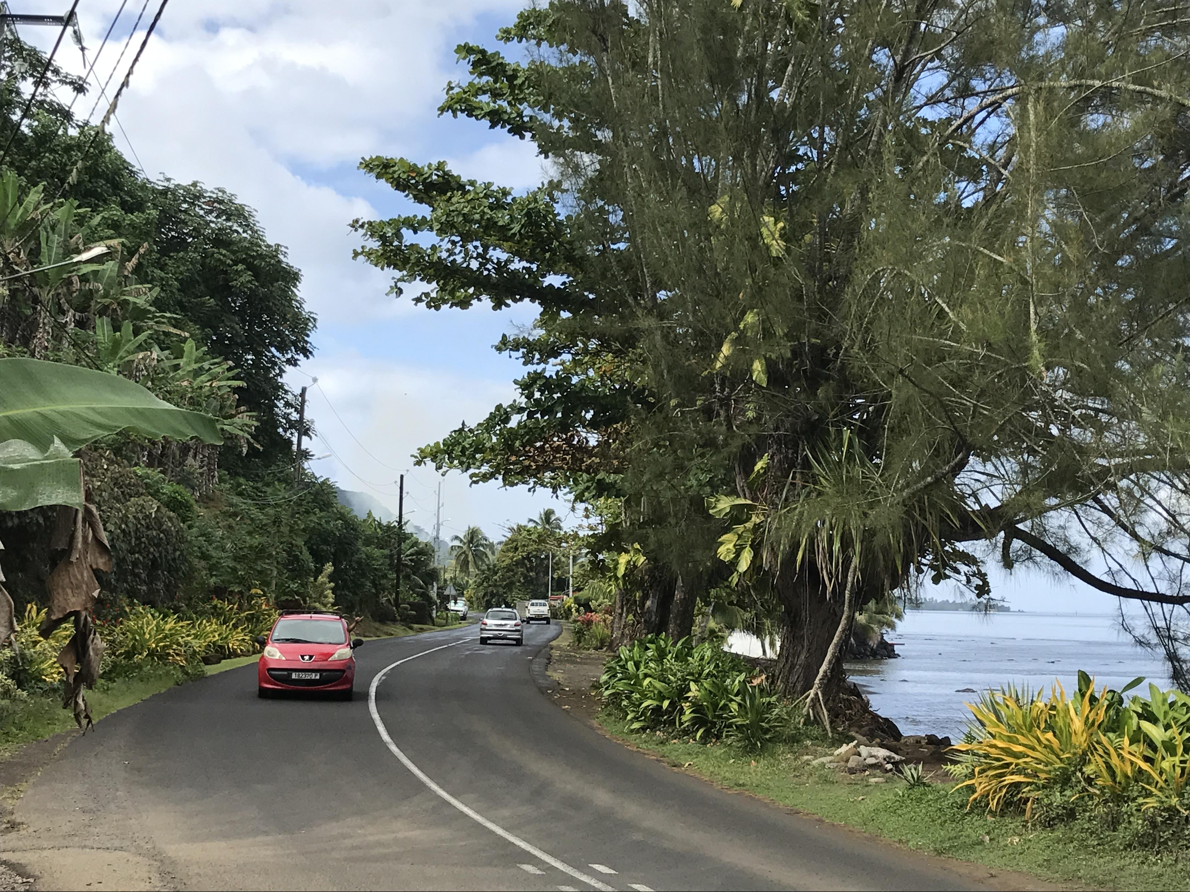 Papeete Tahiti road trip
