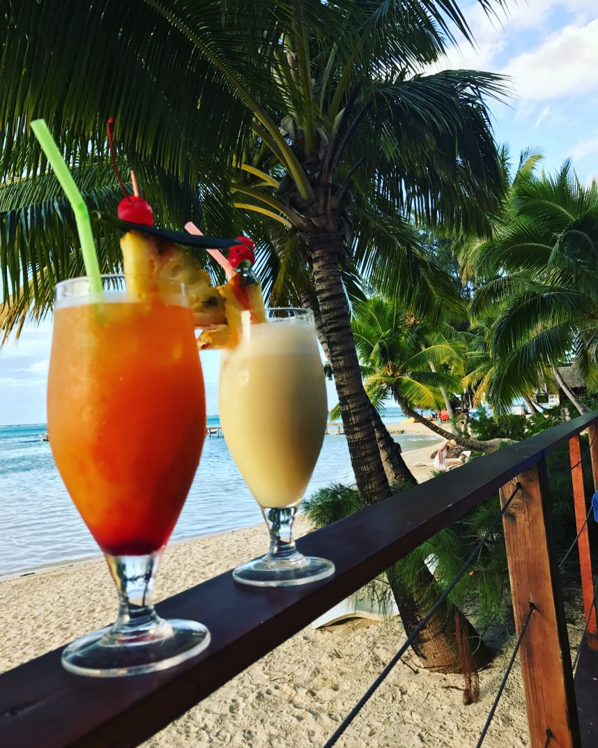 Tipaniers Moorea Cocktails