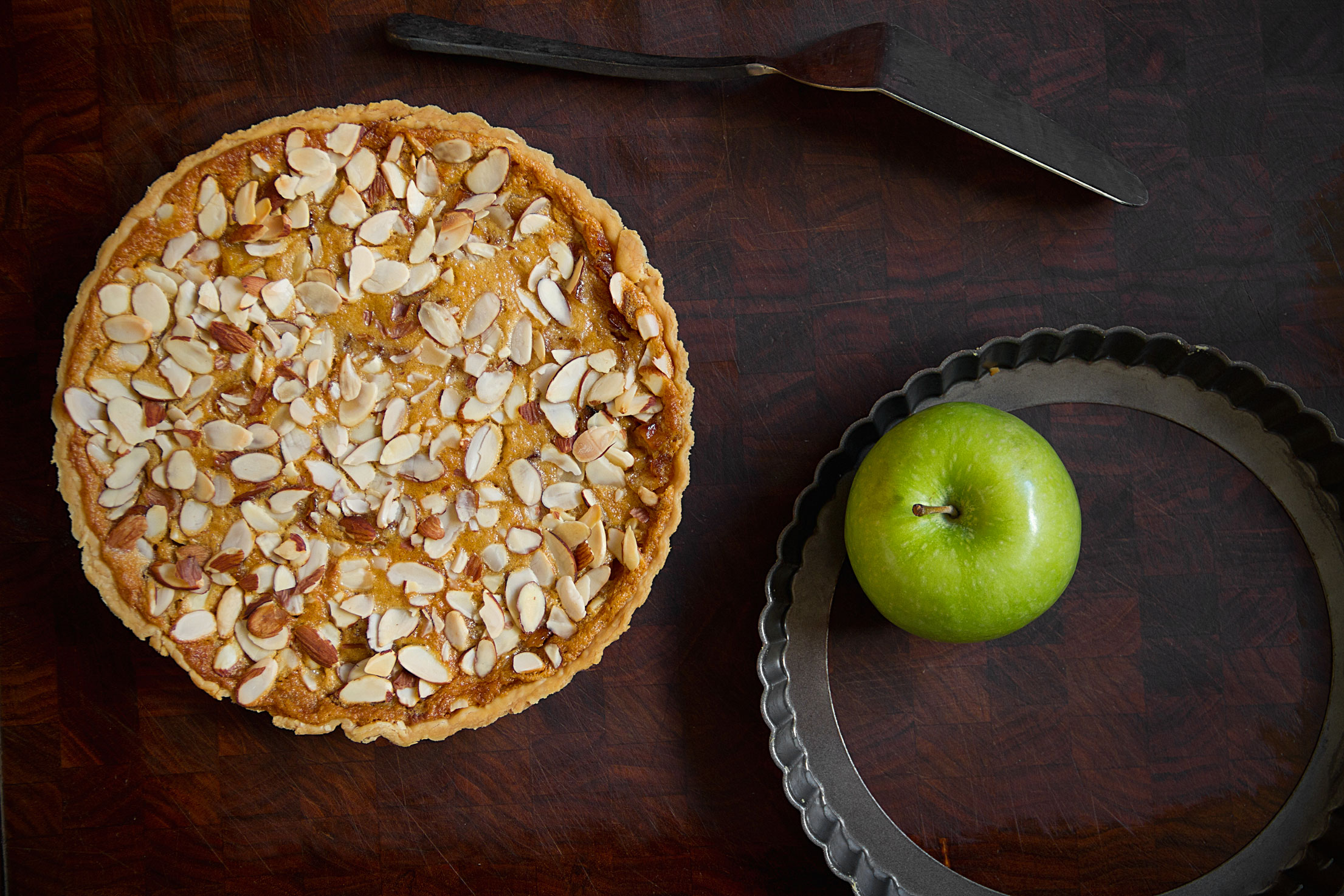 Apple Tarte Normande