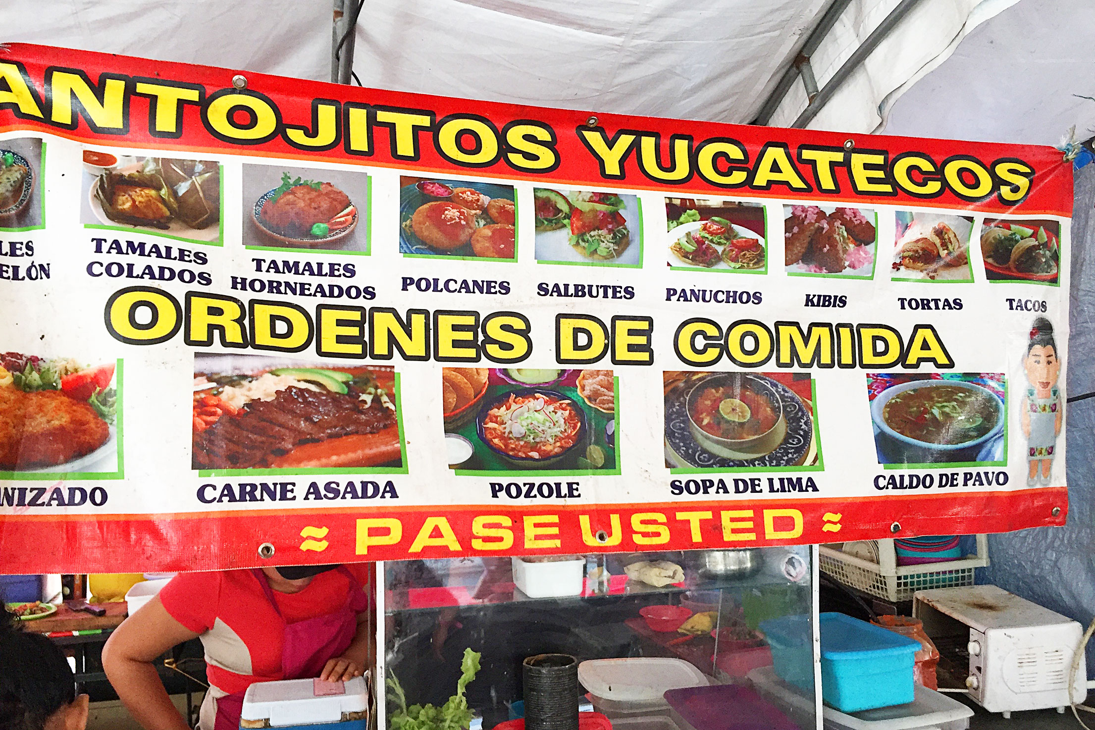Typical Street Food of Mérida