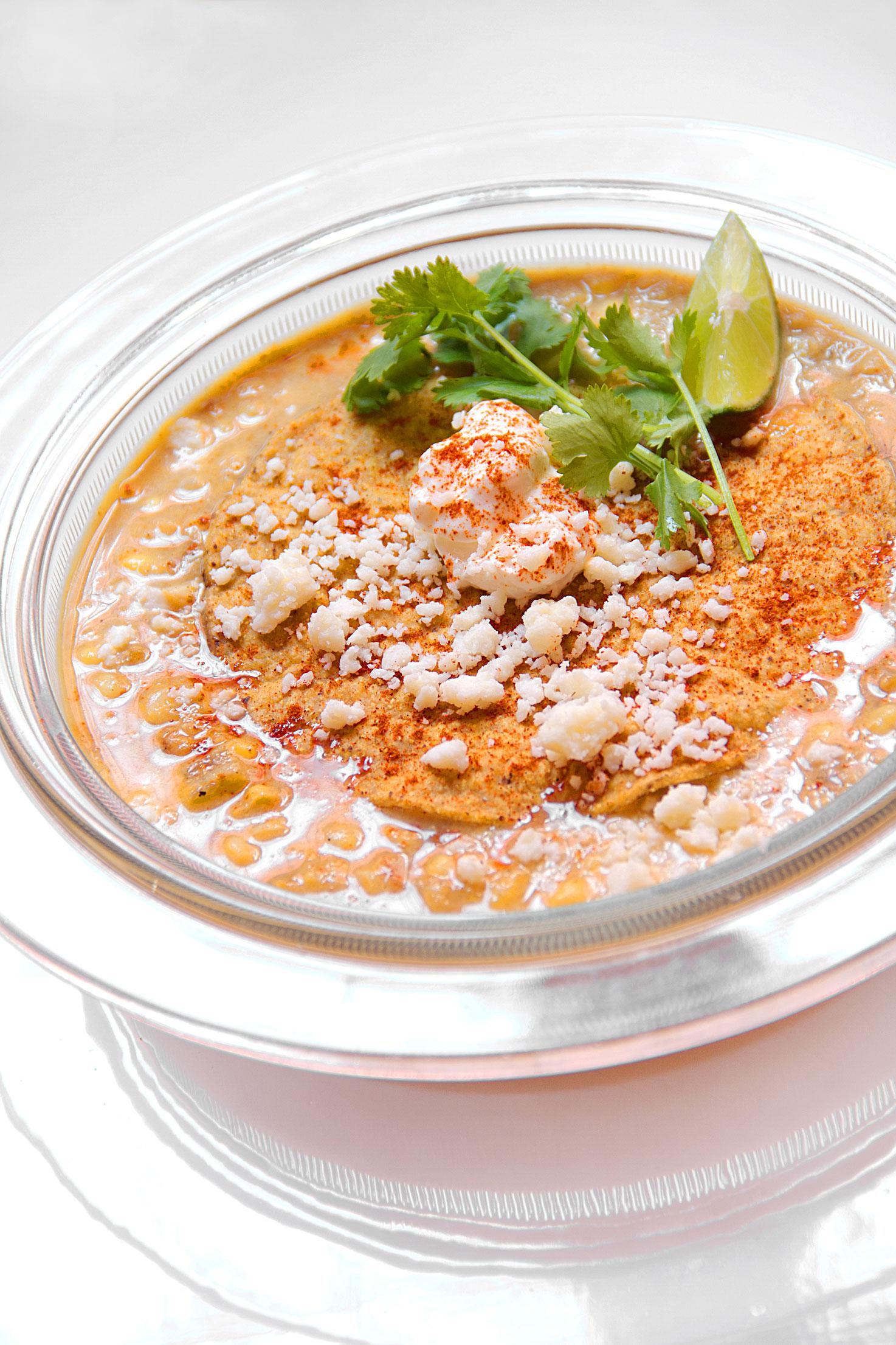 Charred Corn Soup