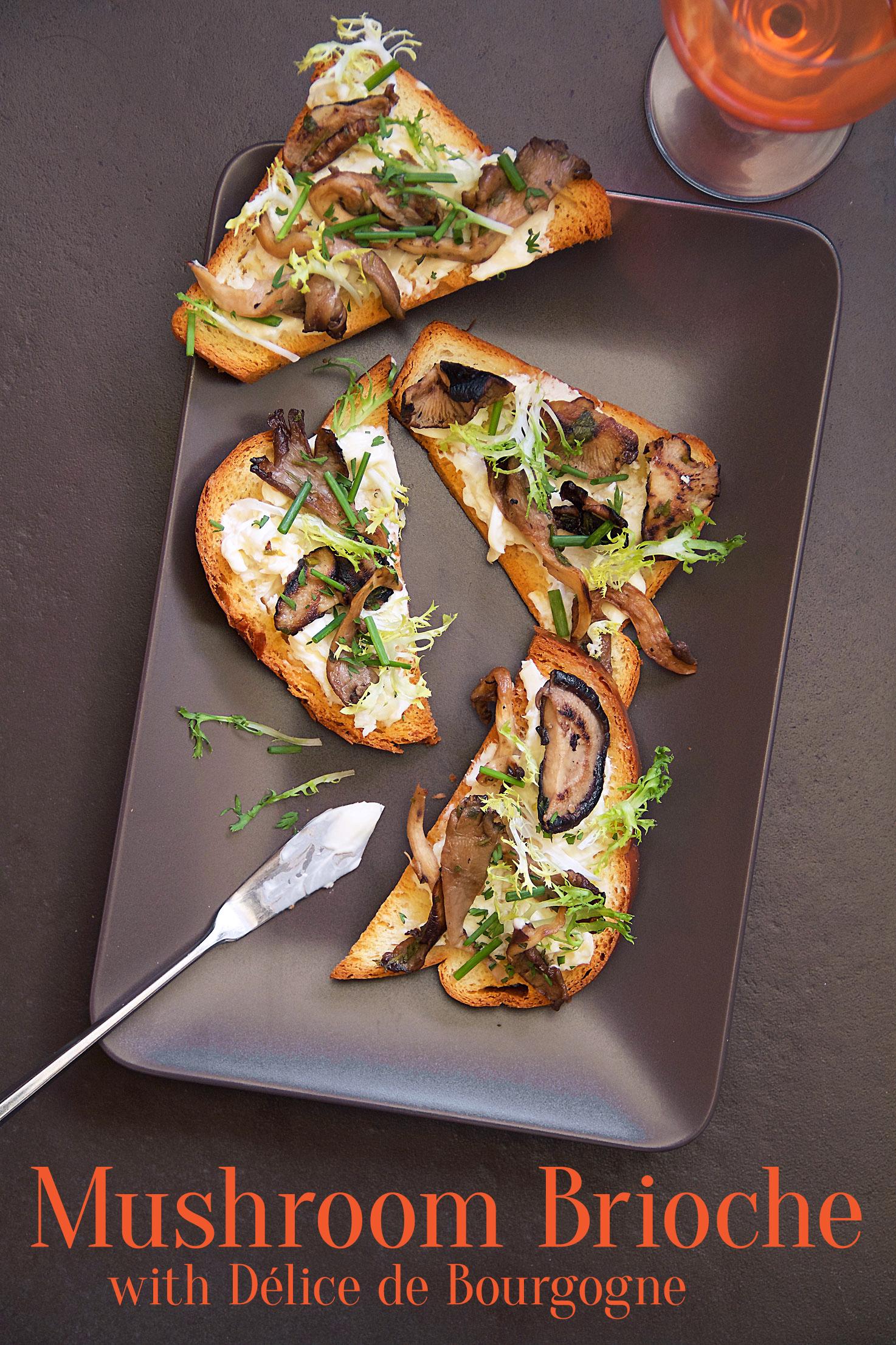 Pan-Seared Mushroom Toasts