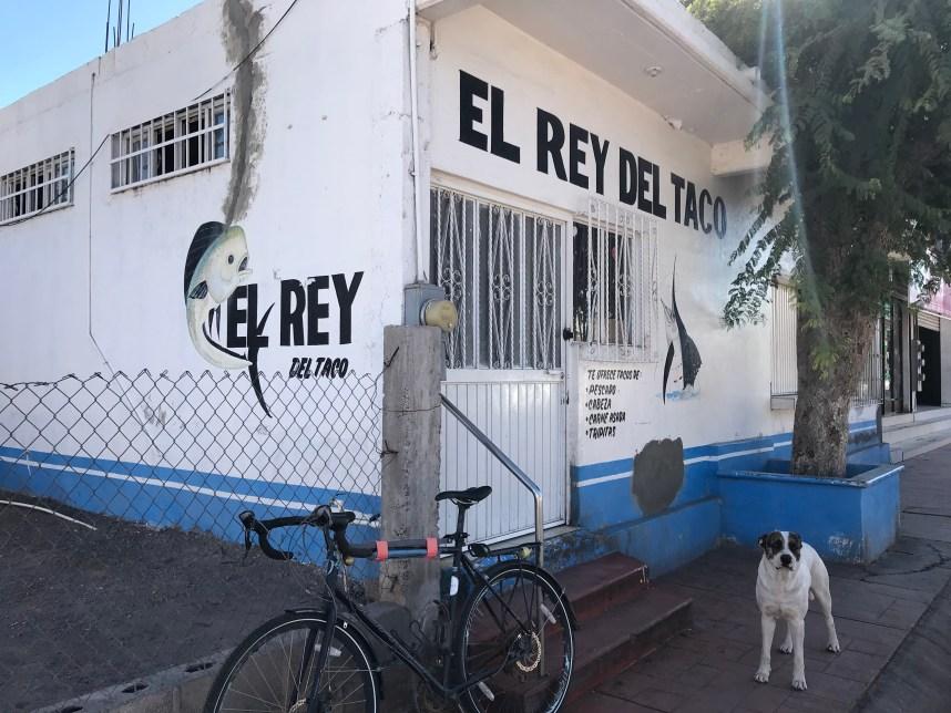 El Rey Taco Stand in Loreto, Mexico