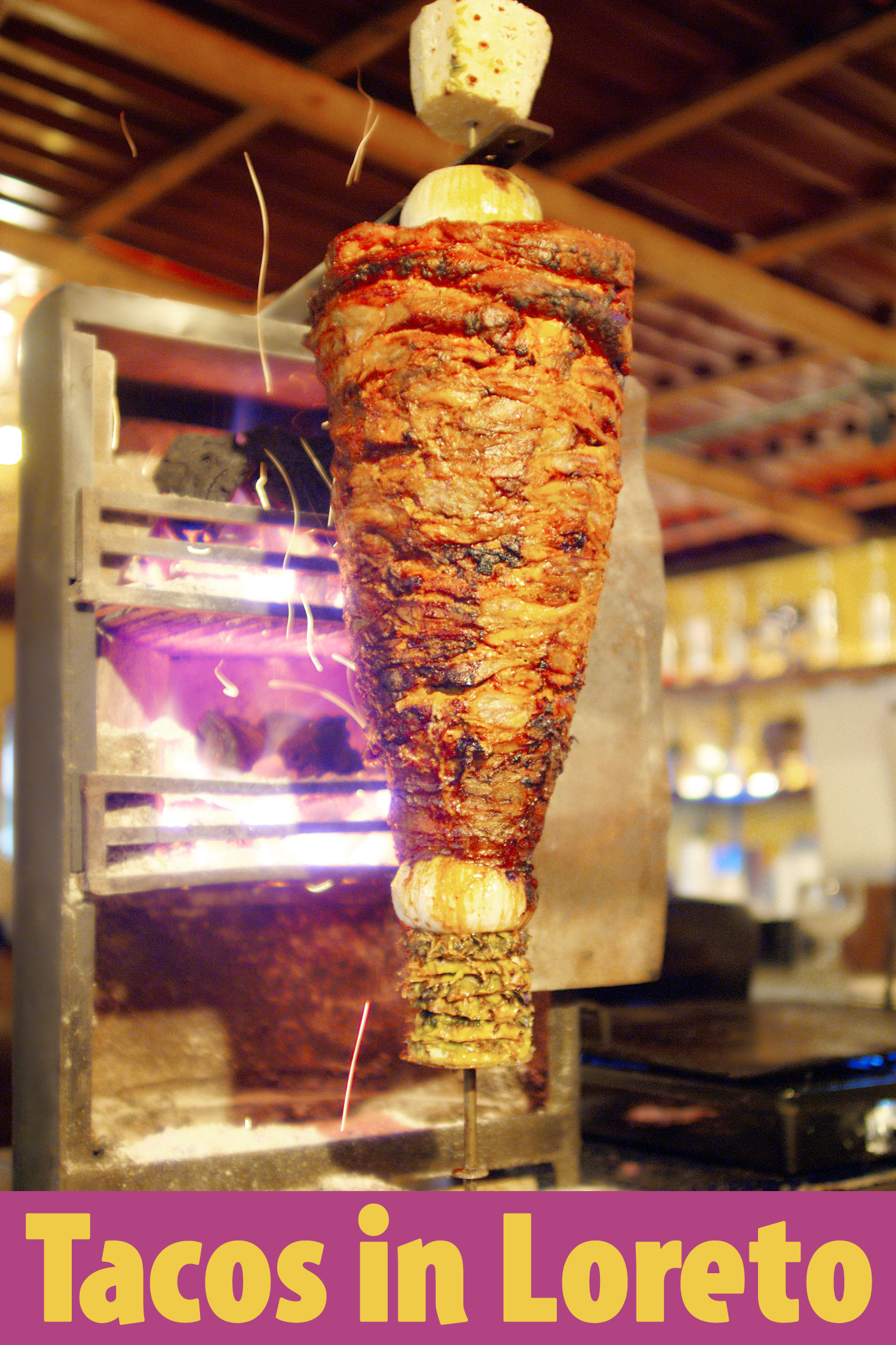 Tacos in Loreto