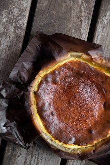 Dave Beran: Burnt Basque Cheesecake