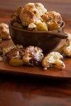 Roast Cauliflower with Saffron-Pickled Golden Raisins