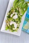 Chicken and Jicama Salad with Celery Pesto