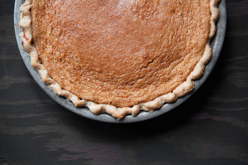 Sour Cream Brown Sugar Pie