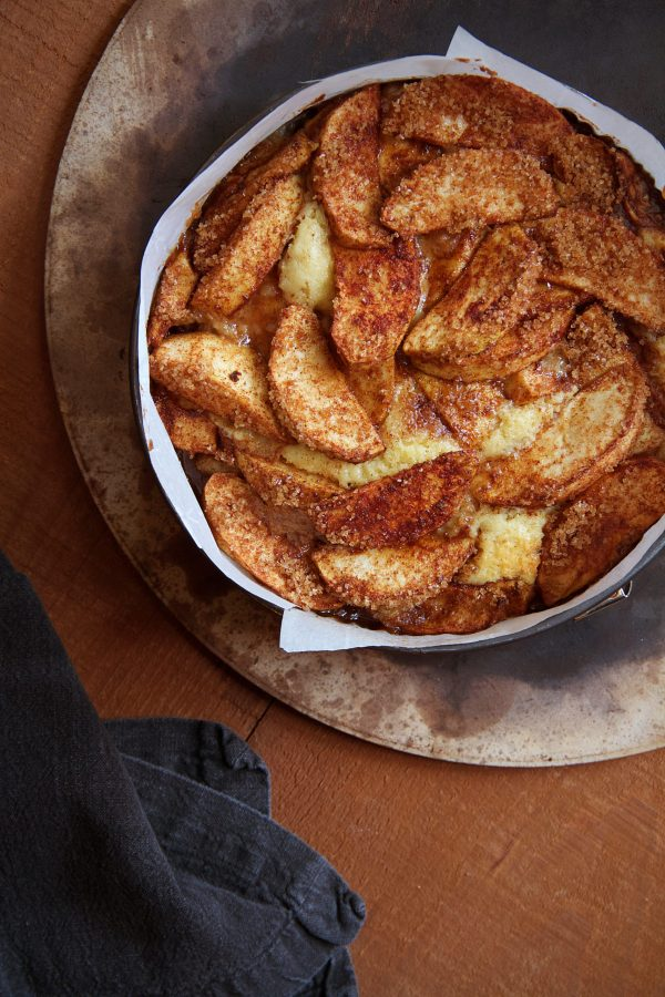 Five-Spice Apple Cake