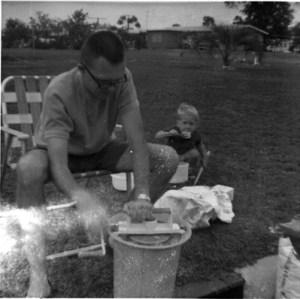 1960s Backyard Ice Cream
