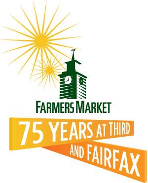 original farmers market 75 years logo