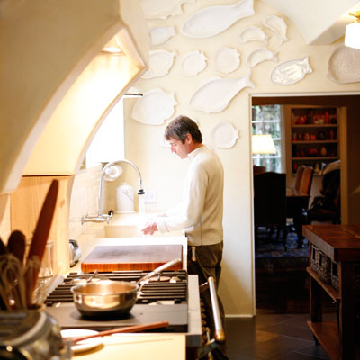 Sippity Sup's Greg Henry in is Kitchen