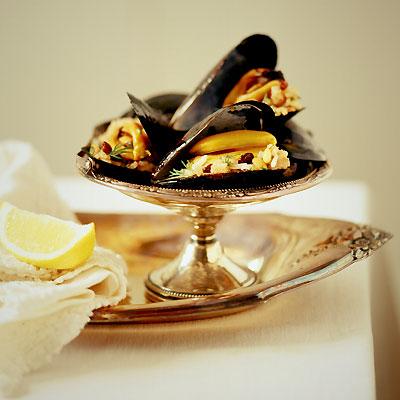 Stuufed Mussels