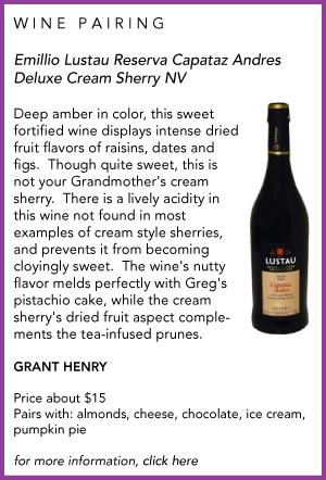 wine pairing Sherry