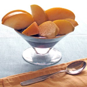 asian pear slices