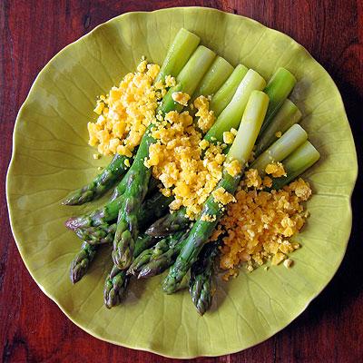 fat asparagus mimosa