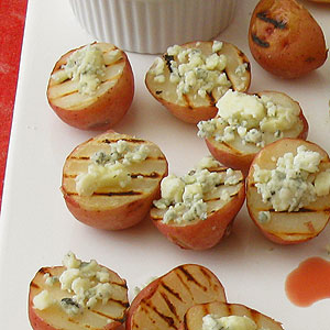 blue cheese potatoes